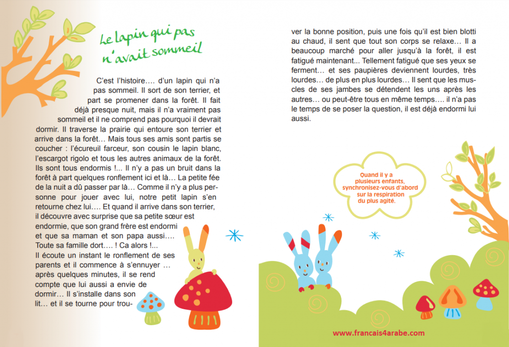 histoire en français pour les petits enfants avant de dormir